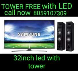 LED TV WITH TOWER SPECIAL OCCASIONALLY SCHEEM