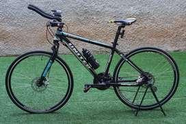 Sepeda Road Bike Flat Bar United Felipe H74 FULL UPGRADE