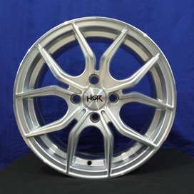 velg mobil racing HSR ring15 pcd 4x100 & 4x114,3 untuk jazz brio ayla
