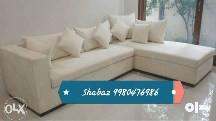 HN53 Corner sofa set with 3 years warranty call us 0