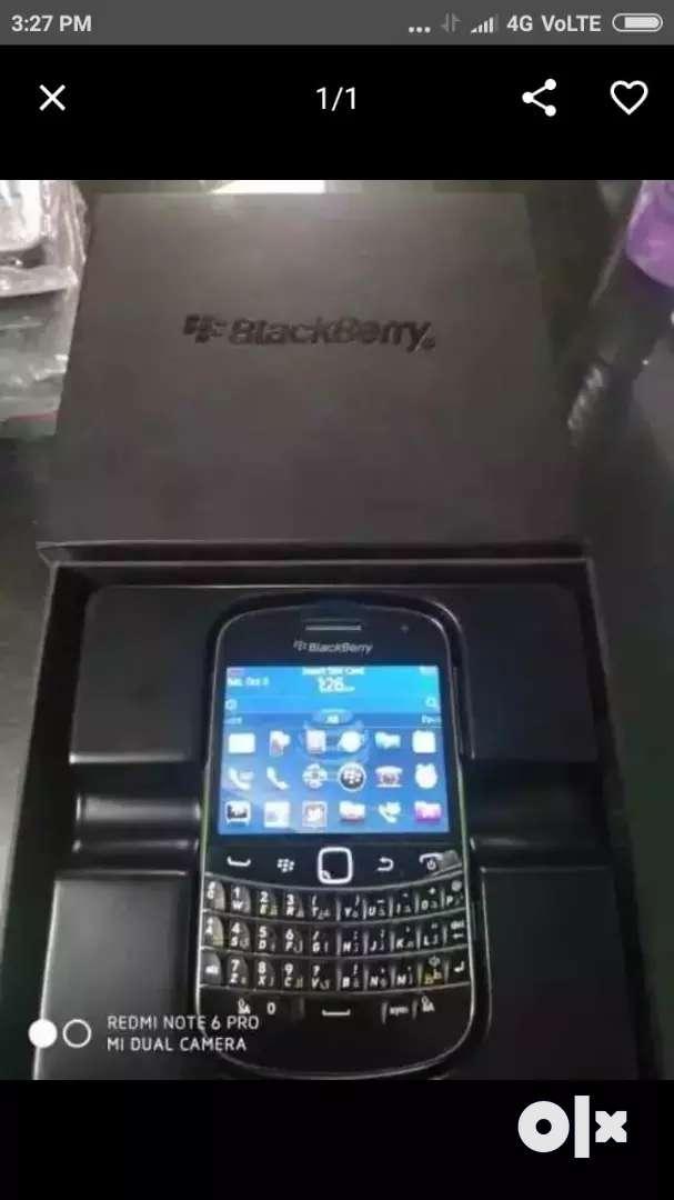 Blackberry bold new box pack refubish 0