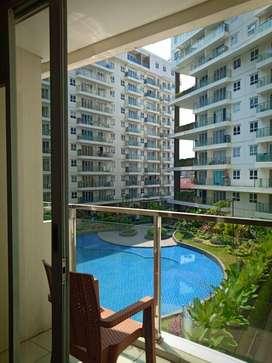 Disewakan harian apartment gateway pasteur view kolam renang