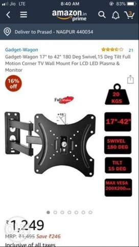 foldable arm for tvs upto 42inch