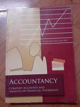 Accountancy textbook class 12
