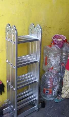 Promo murah tangga aluminium lipat 4
