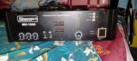 Strenger amplifire 1500watt, with 800watt 2 speker