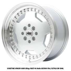 New velg GOETHE L1639 HSR R16X7/8 H8X100-114,3 ET42/38 SML