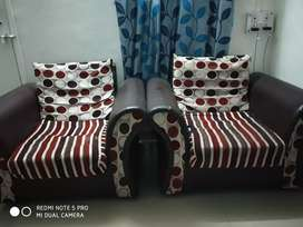 Sofa set for five people