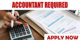 ACCOUNTANT REQUIRED FOR INTERIOR OFFICE