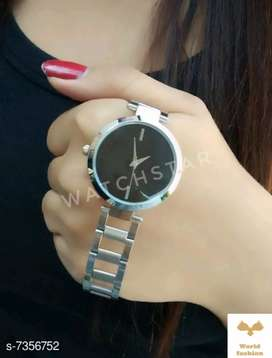Trendy woman watches