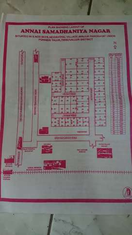 Minjur Neithavoyal Villa for 12lakhs only