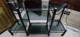 Tv unit trolley