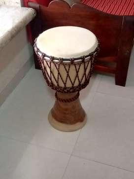 Djambe music instrument