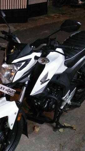 Honda Hornet Dual Disc White in awesome condition for immediate sale.