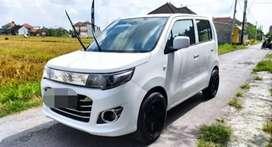 Dijual cepat mobil Suzuki wagon putih mulus 2015 NEGOOO