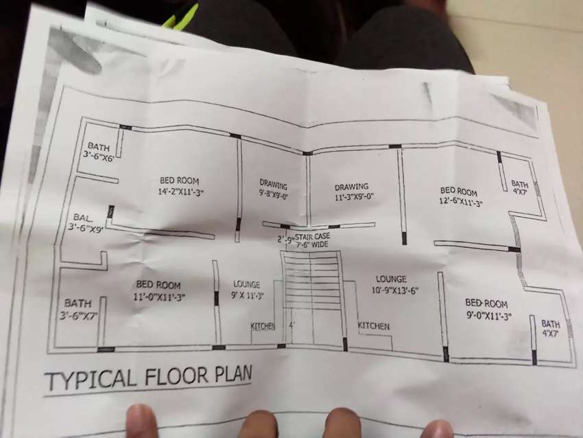Flat for sales in booking 0