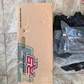 Knalpot r9 misano ss series black new vario 150