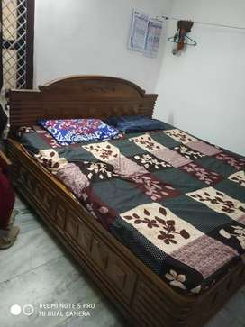 Bed,Almirah, Dining table,Book self at Jayadev Vihar