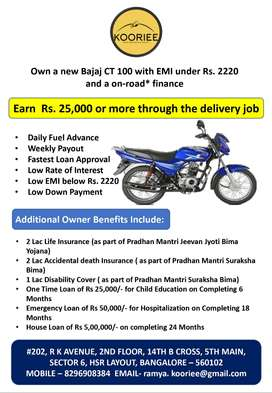 Wanted Filed Executive in with out Bikers & We Provide  New Bike,
