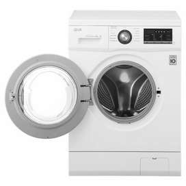 LG Front Load Washer 7 kg FH2J3QDNP0, Inverter Direct drive Motor