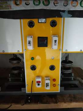 Dona pattal machine... double dye..1500 dona /hr. only Rs.120000