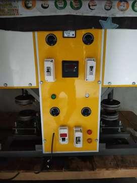 Dona pattal machine... double dye..1500 dona /hr.