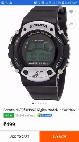 Sonata watch water resist working condition