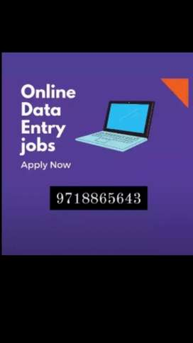 We have a need of 50 male/50 female candidate online & offline job