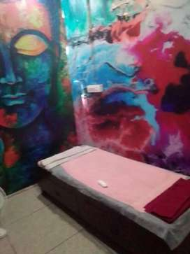 Fully furnished spa 650 sq.ft at silver city rajpur road