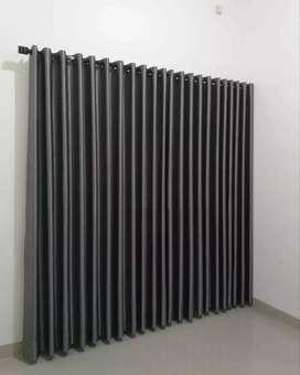 Hordeng gorden gordyn korden series-55293 dekor polos kualitas import
