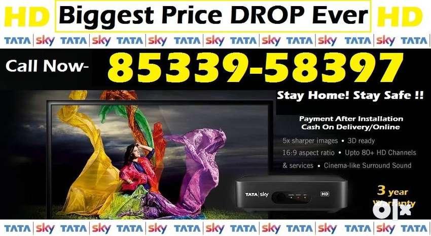 Book Now! Tata Sky HD- Airtel Dish TV Dishtv Videocon- Tatasky DTH D2H 0