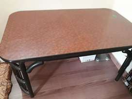 Wooden Dining Table without Chairs