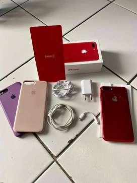 iPhone 7 Plus Red Edition 128GB [Boleh Nego Tipis]]