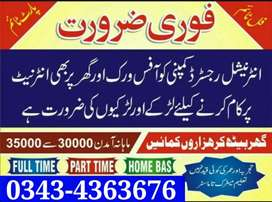 Job Opportunities Full-Time/Part-Time/Home-Base