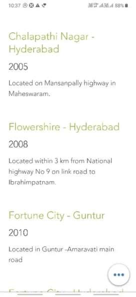 Its very close to Ramoji Flimcity 9mnt drive malkapur village