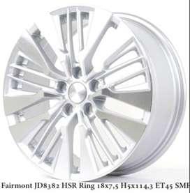 jual velg mobil ring 18 bisa tukar tambah untuk camry civic captiva
