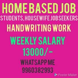 Good handwriting, good earning