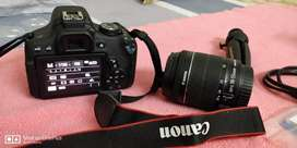 CANON EOS 750D - Rarely Used - Almost New
