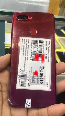 OppoF9 pro 6gb ram 64gb memory 2set one Red color second purple color