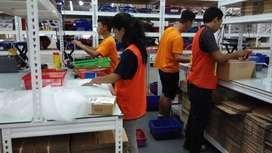 Petugas Gudang Online Shop Daerah Kapas Krampung