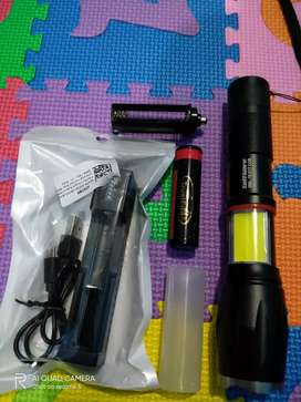 TaffLED Paket Senter LED Torch Cree XM-L T6 8000Lumens