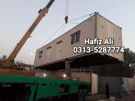 House container porta cabin prefab hall guard room mobile cafe shops..