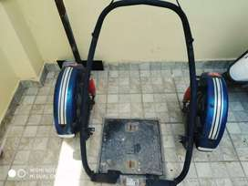 Side wheel for handicap person for activa