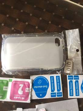 Blackberry q10 cover and glass protector