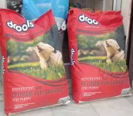 Dog food available