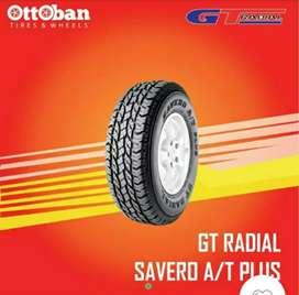 Jual Ban mobil lokal baru gt savero A/T plus ukuran 275/60 R16
