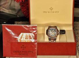 Patek Philippe Automatic Wirst Watch Complete Box
