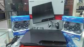 Ps3 slim hdd 500gb full shet full game