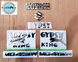 Emblems set gypsy king