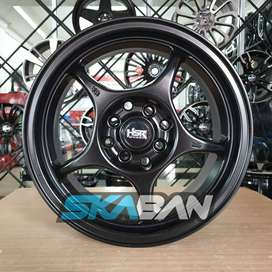 Jual Velg Racing HSR Tipe Sensei Ring 15 Brio Agya Calya Mirage March